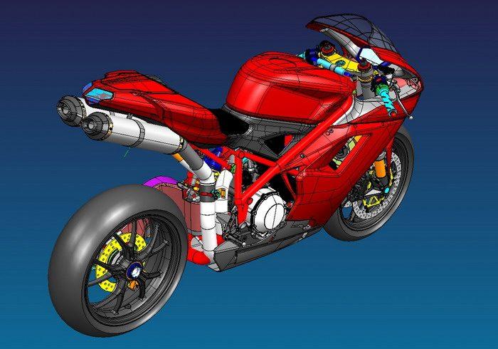 Ducati 1098 2007 - 2