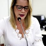 ter, 13/06/2017 - 09:23 - Vereadora Nely durante a 17ª Reunião Ordinária da Comissão de Legislação e Justiça.Foto: Rafa Aguiar
