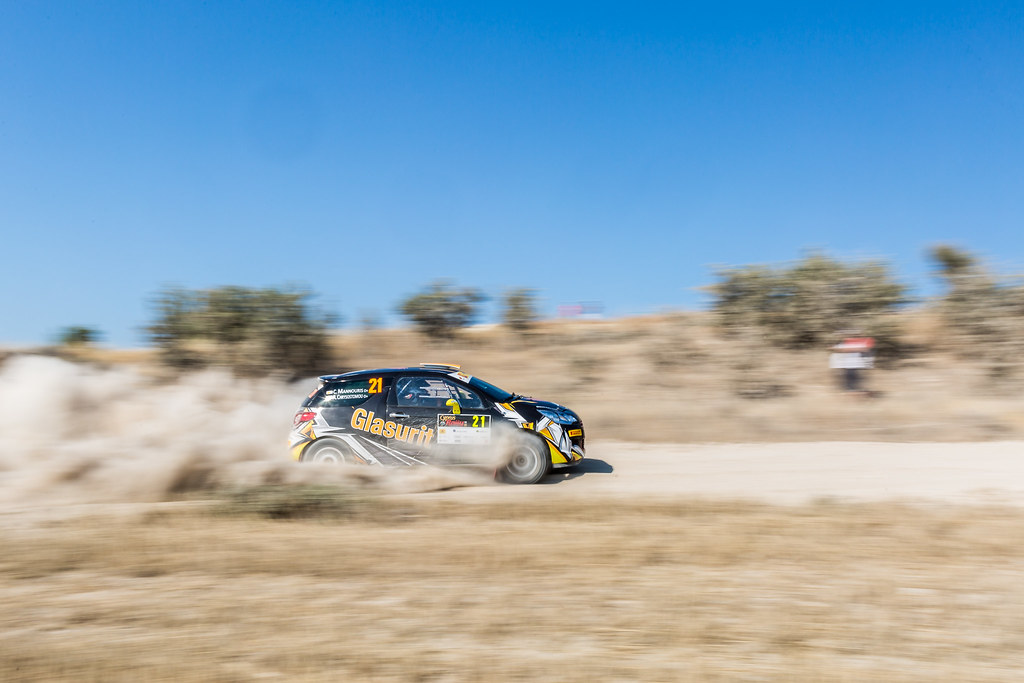 21 MANNOURIS Christos (cyp) and CHRYSOSTOMOU Andreas (cyp) GLASURIT RALLY TEAM CITROEN DS3 R3T action during the 2017 European Rally Championship ERC Cyprus Rally,  from june 16 to 18  at Nicosie, Cyprus - Photo Thomas Fenetre / DPPI