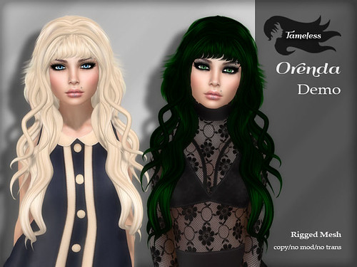 Tameless Hair Orenda - The Darkness Event Exclusive