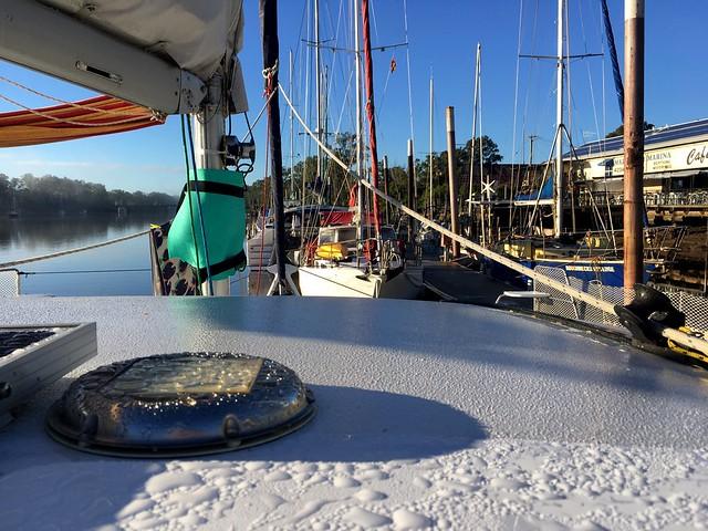 Morning at the Mary River Marina