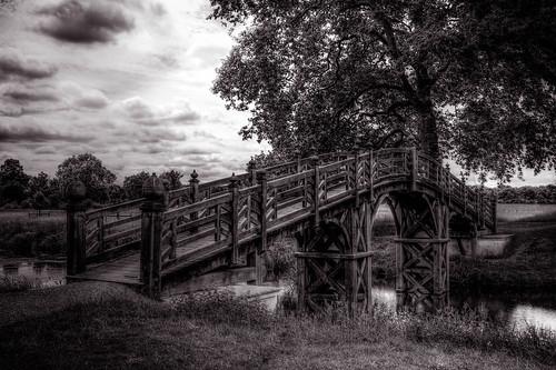 Bridge at Croome park