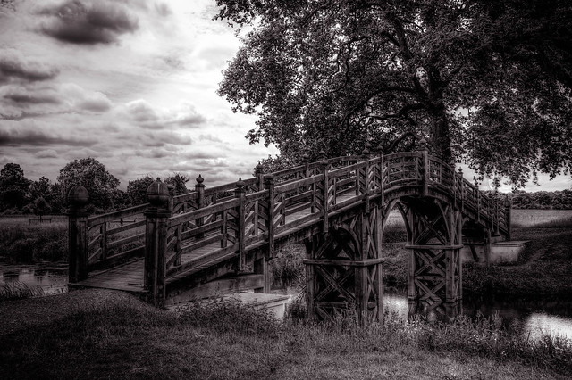 Bridge at Croome park