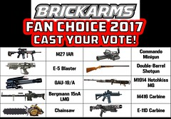 Announcing the BrickArms Fan Choice 2017 - Cast Your Vote! by enigmabadger