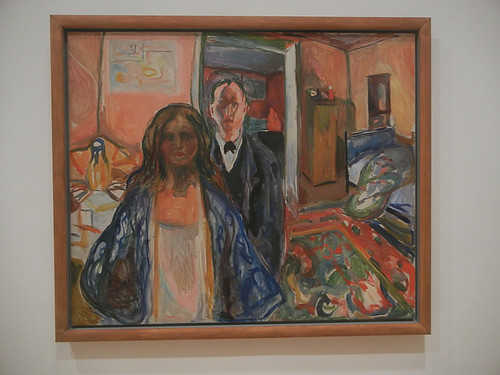 DSCN9113 _ The Artist and His Model, 1919-21, Edvard Munch, SFMOMA