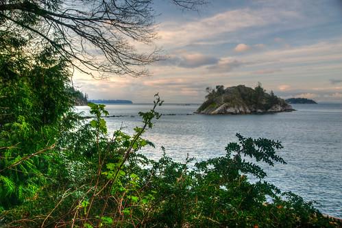 horseshoebay landscape island green canada british columbia bc britishcolumbia water hdr