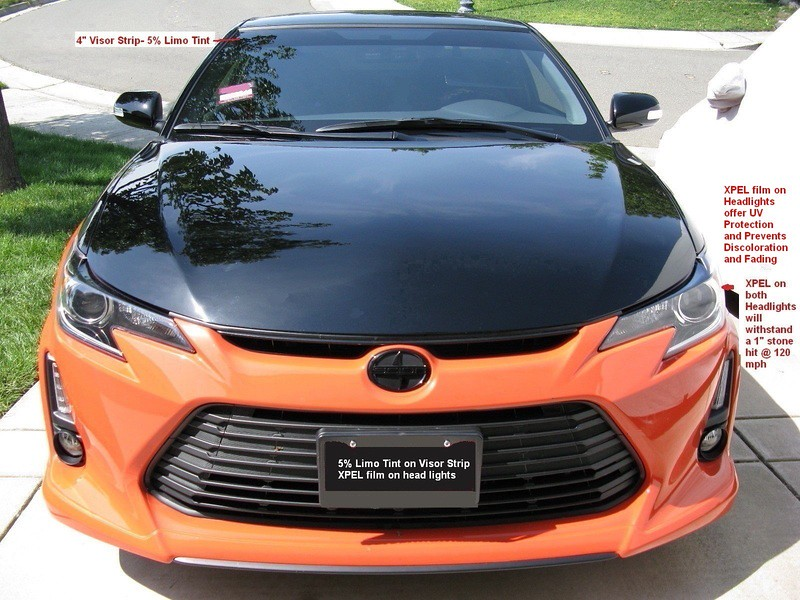 Legal Tint In Ca >> Sunstrip Tint Legal Or Illegal In California Scionlife Com