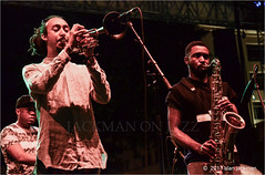 Theo Croker and Anthony Ware , Theo Croker Quintet, Clifford Brown Jazz Festival