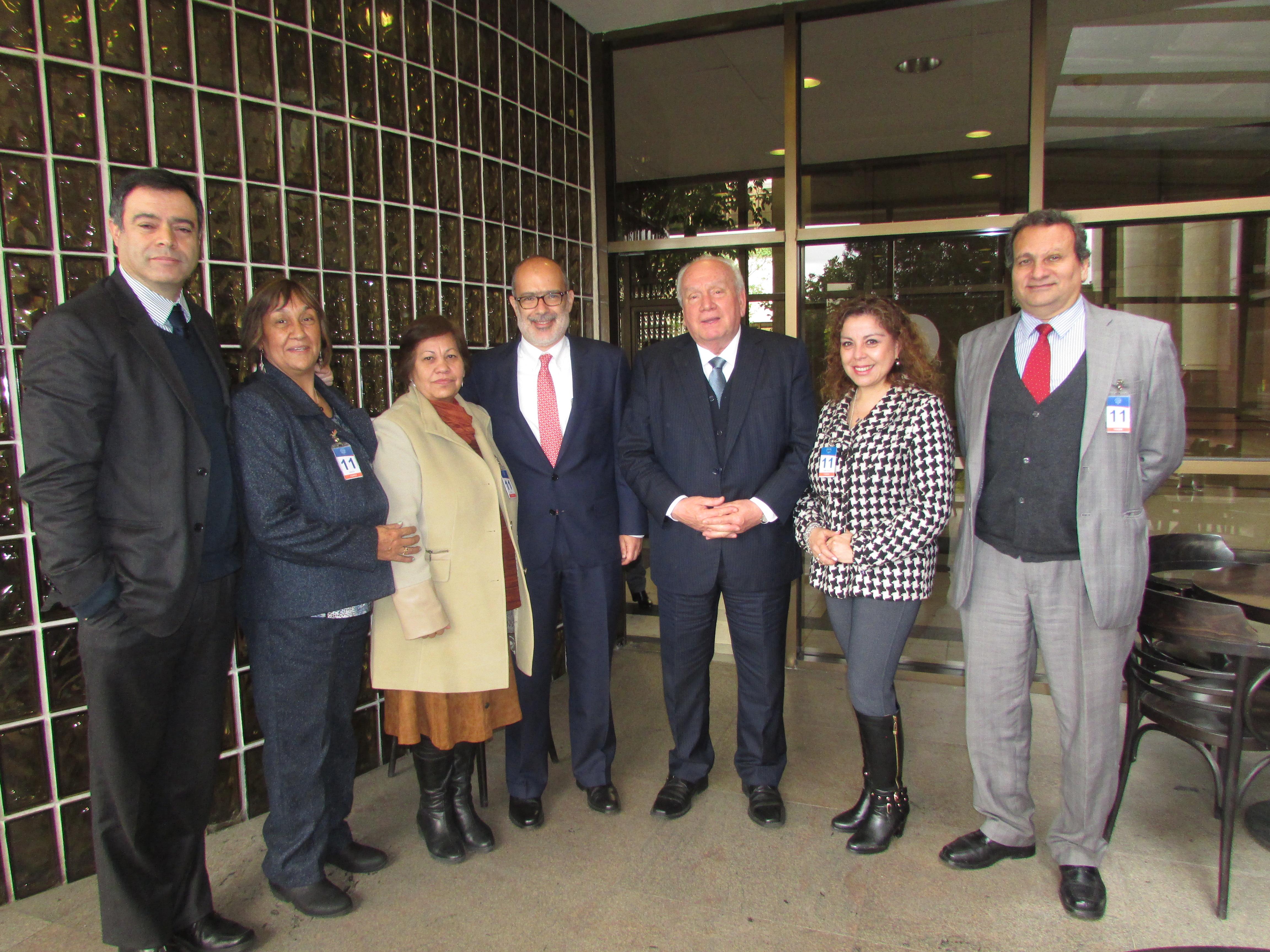 Directorio AET se reúne exitosamente con diputado José Miguel Ortiz por Proyecto de Fortalecimiento de Tesorería - 04 Julio 2017