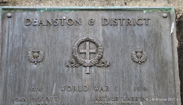 Deanston & District War Memorial