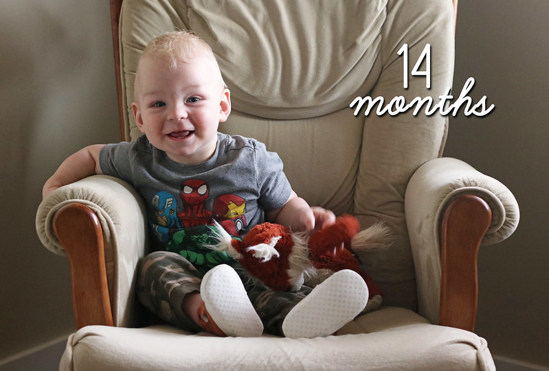Jonathan is 14 Months Old!