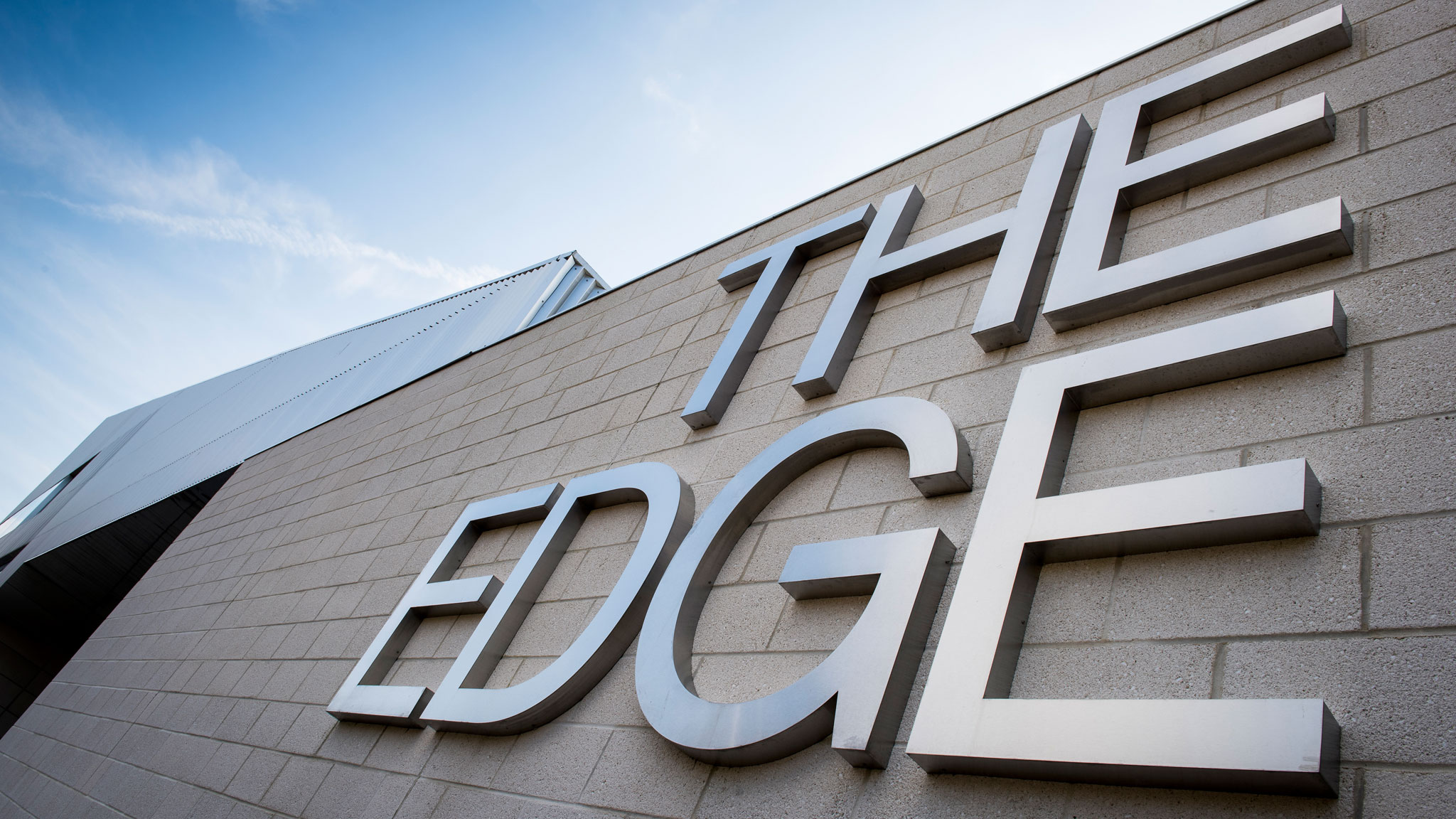Photograph of the exterior of The Edge building on our main campus in Bath