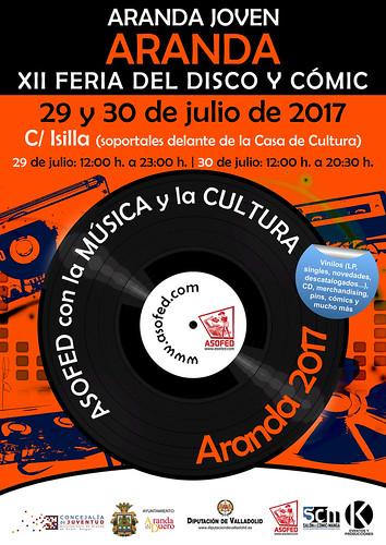 XII Feria del Disco y Cómic de Aranda de Duero