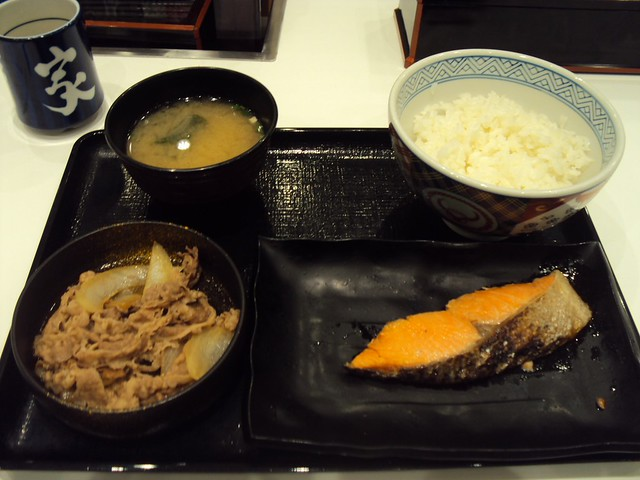 My first meal in Hokkaido -- at the Chitose Airport by bryandkeith on flickr