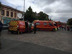 farbojo Rieumes expo 70 ans des sapeurs Pompiers - Photo of Labastide-Clermont