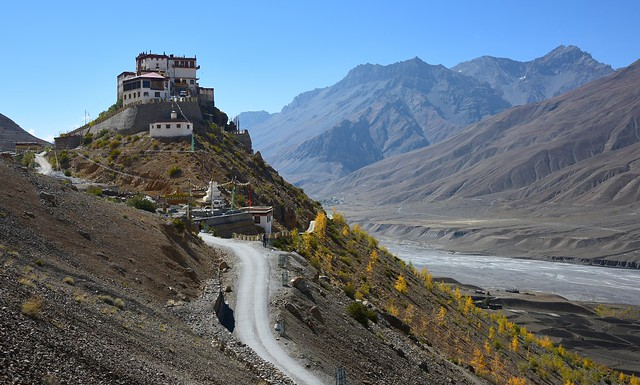 Kye Monastery along Spiti Valley, India 2016