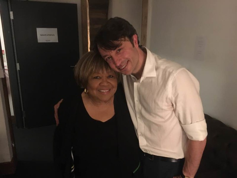 Mavis Staples Christopher Rees @porcelinasworld