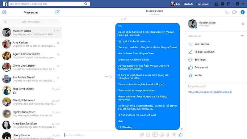 madelen olsen facebook melding 2