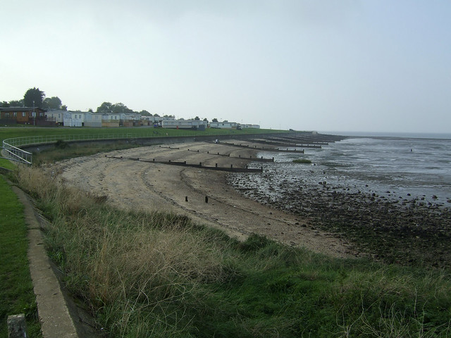 The coast at Allhallows-on-Sea