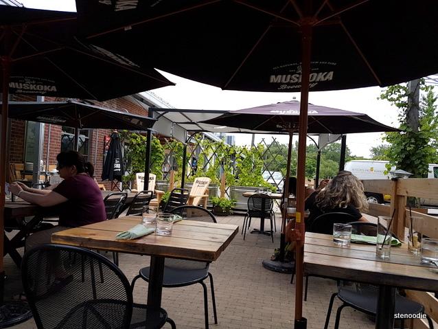 Cafe Belong patio