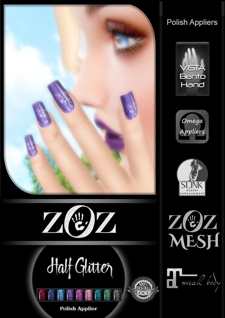 {ZOZ} Half Glitter pix L - SecondLifeHub.com