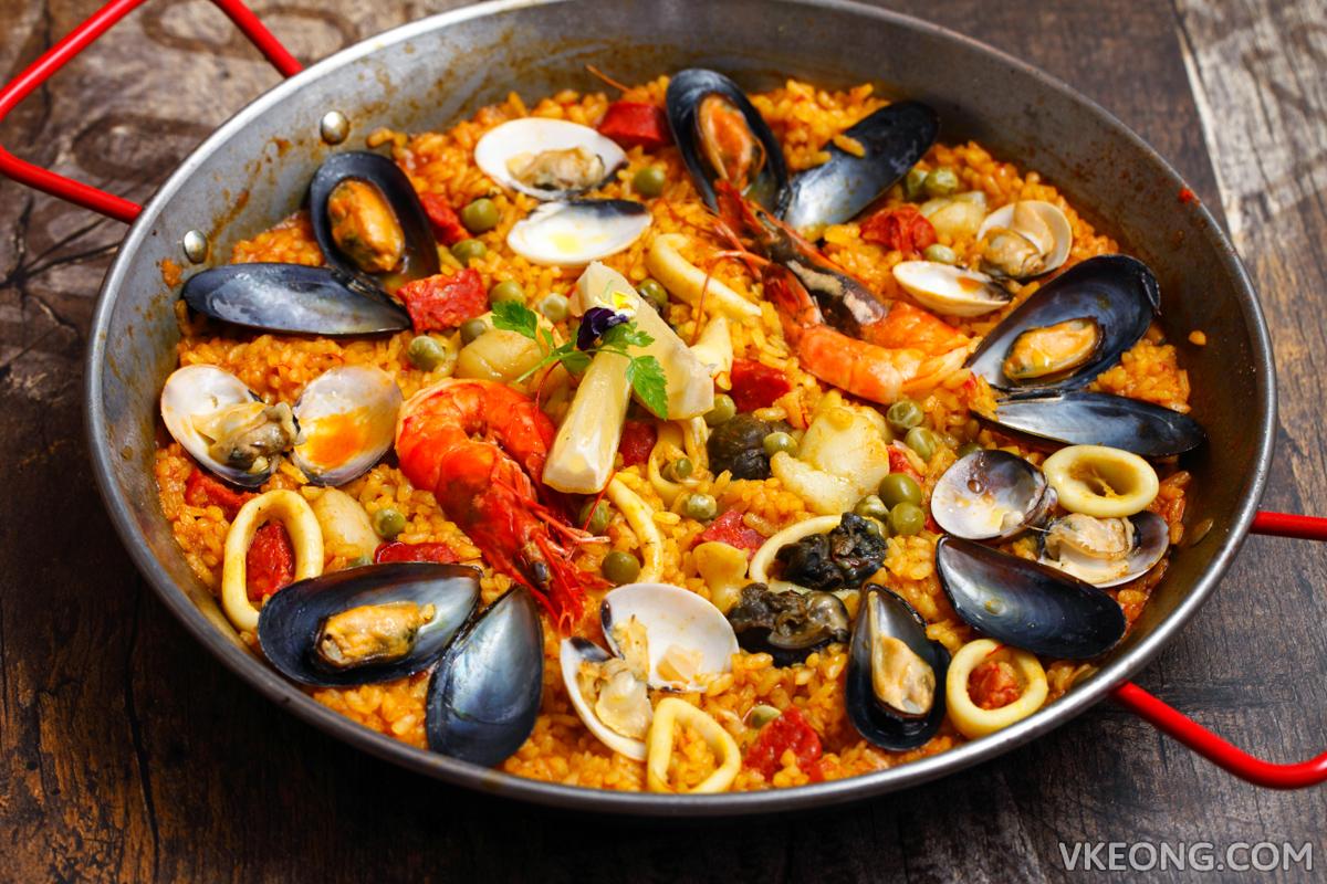 El Iberico Seafood Paella