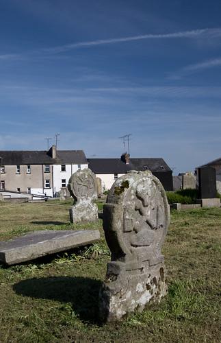Clones cemetery gravestone