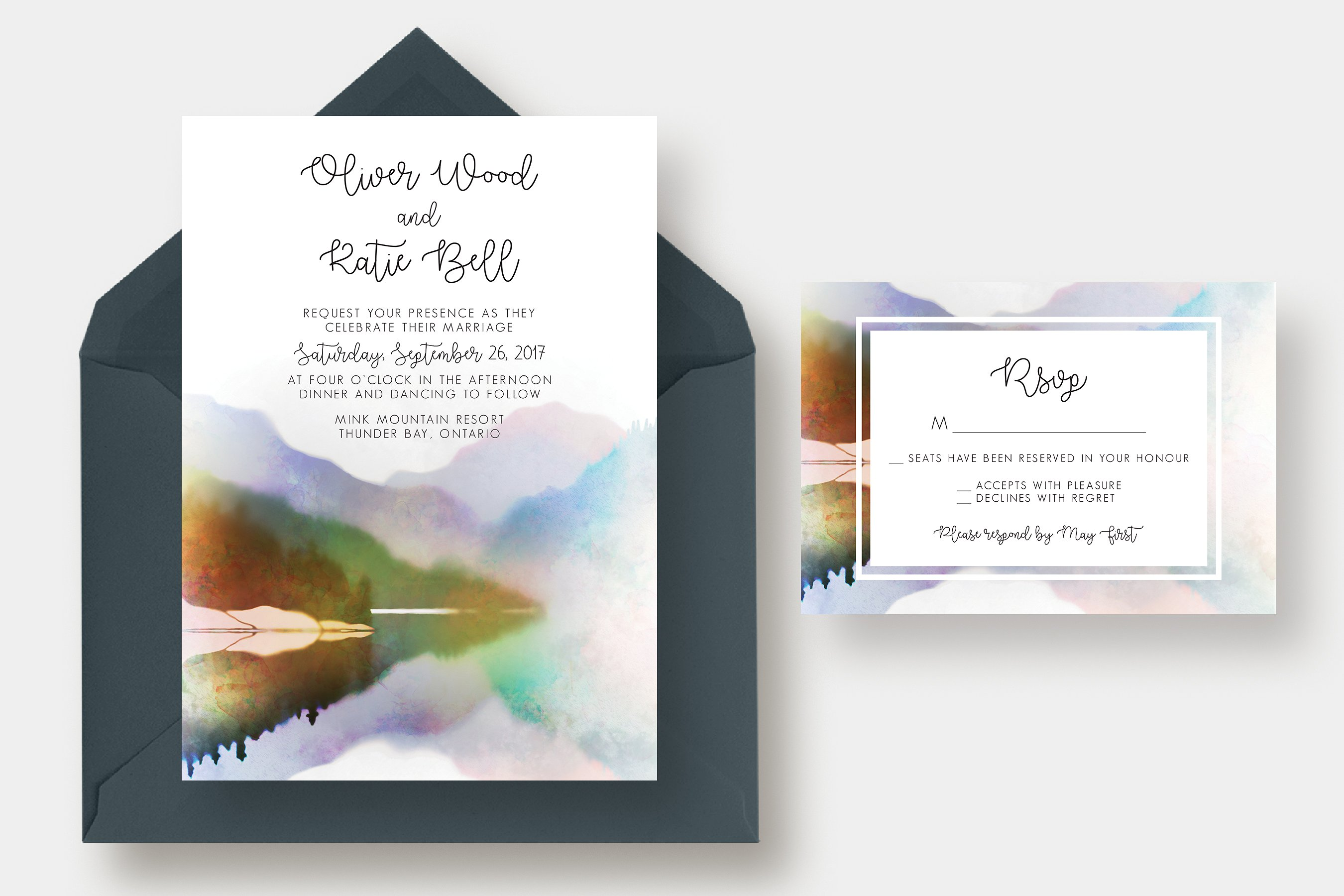 PSD Thiệp cưới - PSD Thiệp cưới tranh sơn dầu