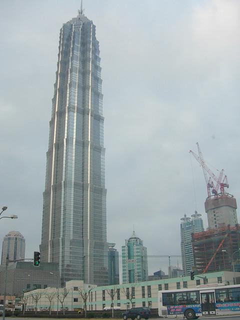 Tour Jin Mao à Shanghai