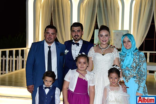 Ali Osman Aksoy, İsmail Vardar, Hacer Aksoy Tuğba Aksoy ve çocukları