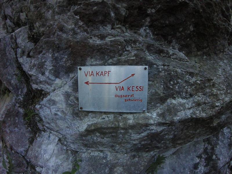 Klettersteig Via Kapf : Klettersteige im montafon lisa unterwegs