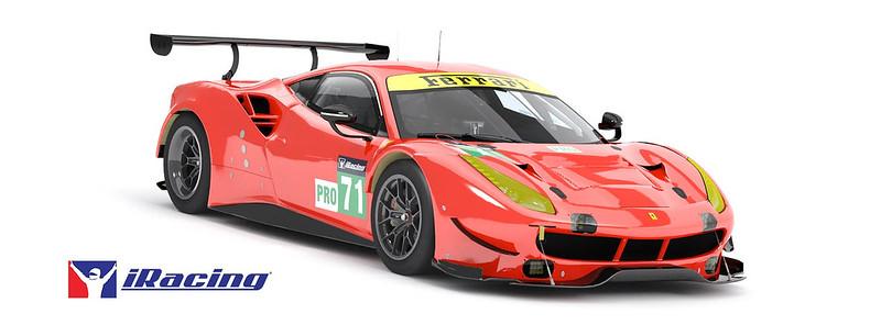 Ferrari 488 GTE iRacing