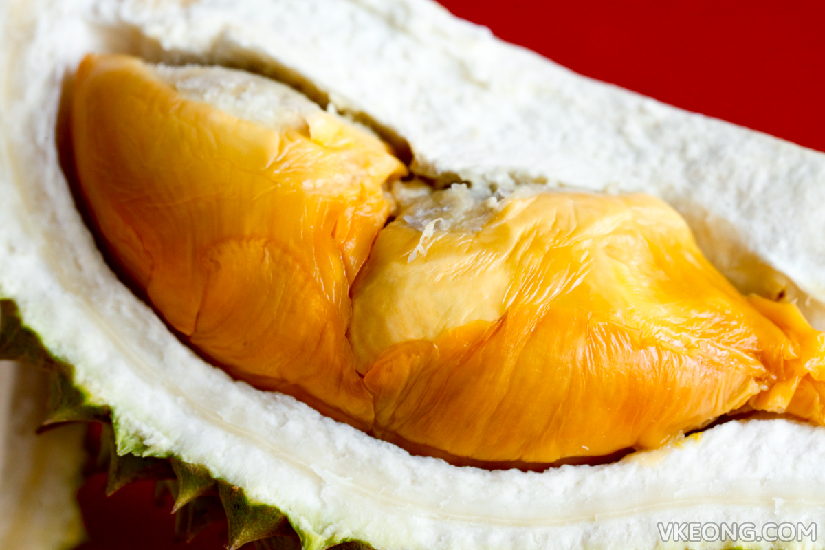 Red Prawn Durian Flesh