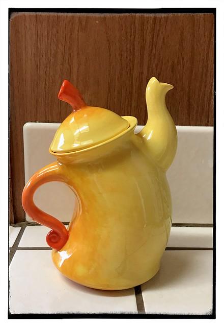 My dancing teapot.  #petroglyph