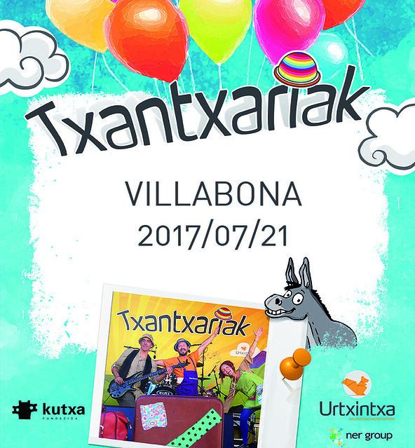 Txantxariak Villabonan 2017/07/21