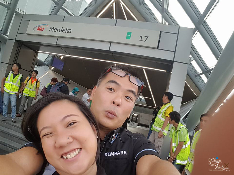 MRT Merdeka Station william cheah yilyn chan