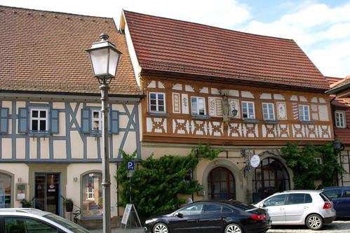 Hofheim / Ufr., Fachwerk