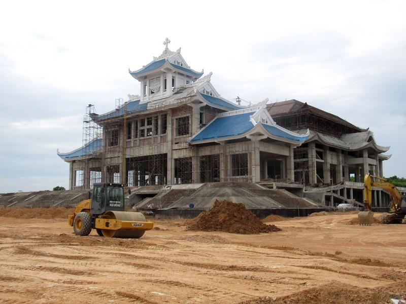 Công trình La Vang đang dần được thành hình