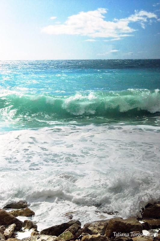 Вид с пляжа Перазича До