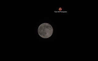 Moon from my house