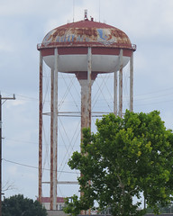 Old Kelly AFB water tower