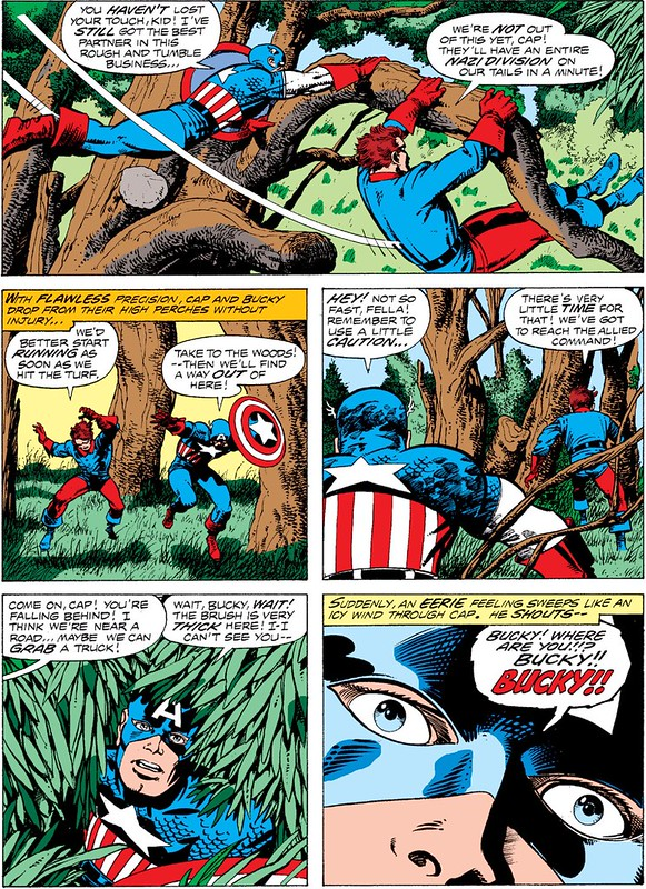 Cap Bucky reunited Barry Smith inks