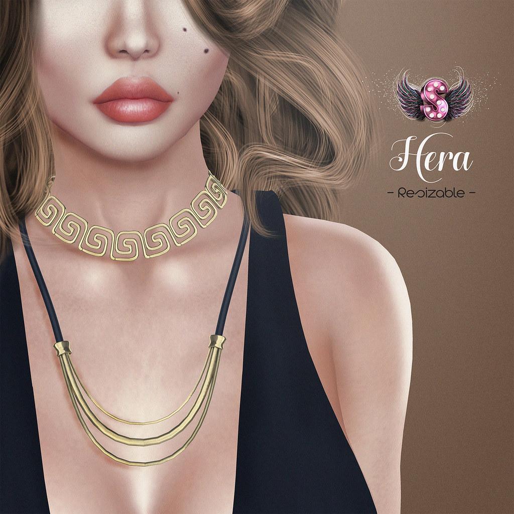 .::Supernatural::. Hera Necklace@ Tres Chic - SecondLifeHub.com