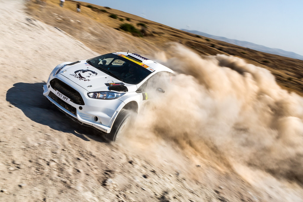 03 AL ATTIYAH Nasser (qat) and BAUMEL Matthieu (fra) NASSER AL-ATTIYAH FORD FIESTA R5 action during the 2017 European Rally Championship ERC Cyprus Rally,  from june 16 to 18  at Nicosie, Cyprus - Photo Thomas Fenetre / DPPI