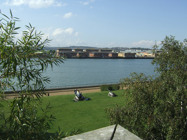 The Medway at Chatham