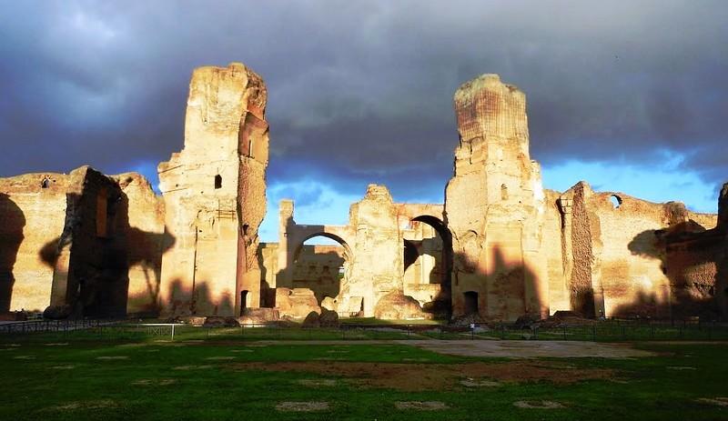 Roma: Terme di Caracalla