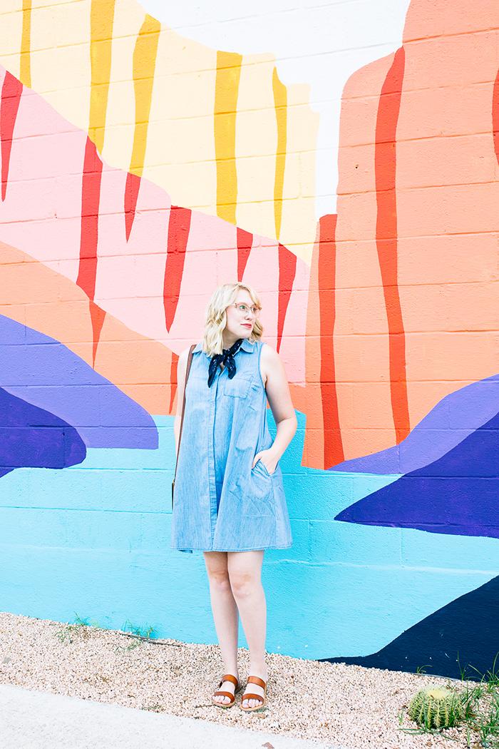 austin fashion blogger writes like a girl old navy denim dress18