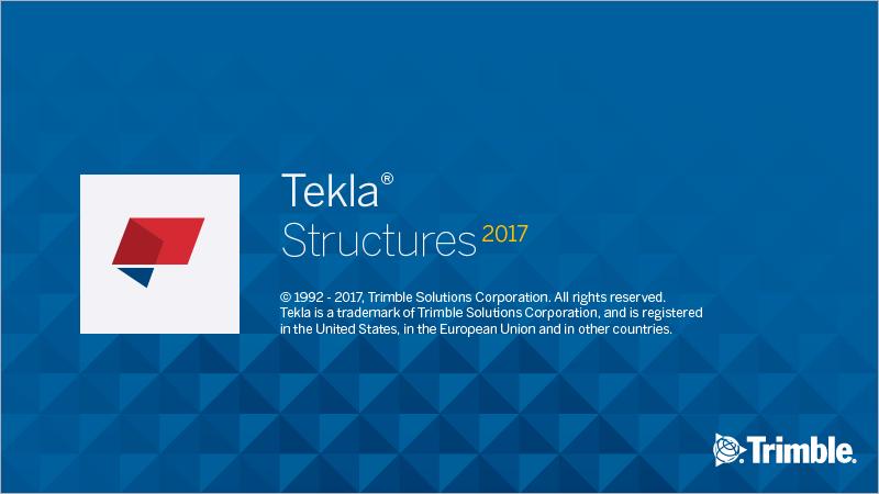 Tekla Structures v2017 SP1 full license
