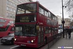 Volvo B7TL Transbus ALX400 - LJ53 BBO - VLA54 - Arriva - Norwood Garage 2 - London 2017 - Steven Gray - IMG_9162