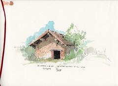 Bevenais - La petite bâtisse oublié au milieu des cultures de colza et de maïs - Photo of Mottier
